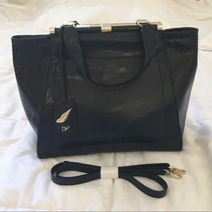 Diane Von Furstenberg Black Leather Bag